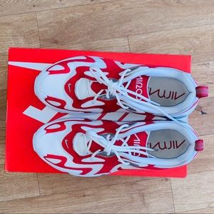 Nike Shoes - Nike red and white air max 200